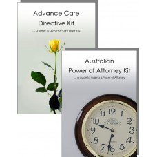 Advance Care Directive & Power of Attorney Kit for two adults