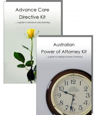 Advance Care Directive & Power of Attorney Kit for one adult
