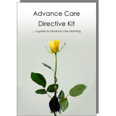 Advance Care Directive Kit for one adult