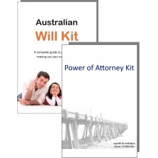 Australian Will Kit and Power of Attorney Combination Pack - for one person