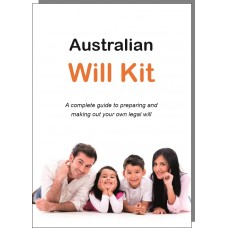 Australian Will Kit - for one adult