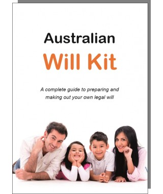Australian will kit legal throughout australia guardianship of australian will kit family pack solutioingenieria Choice Image