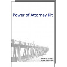 Australian Power of Attorney Kit - 1 person pack