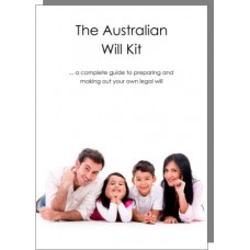 Australian Will Kit - for two adults