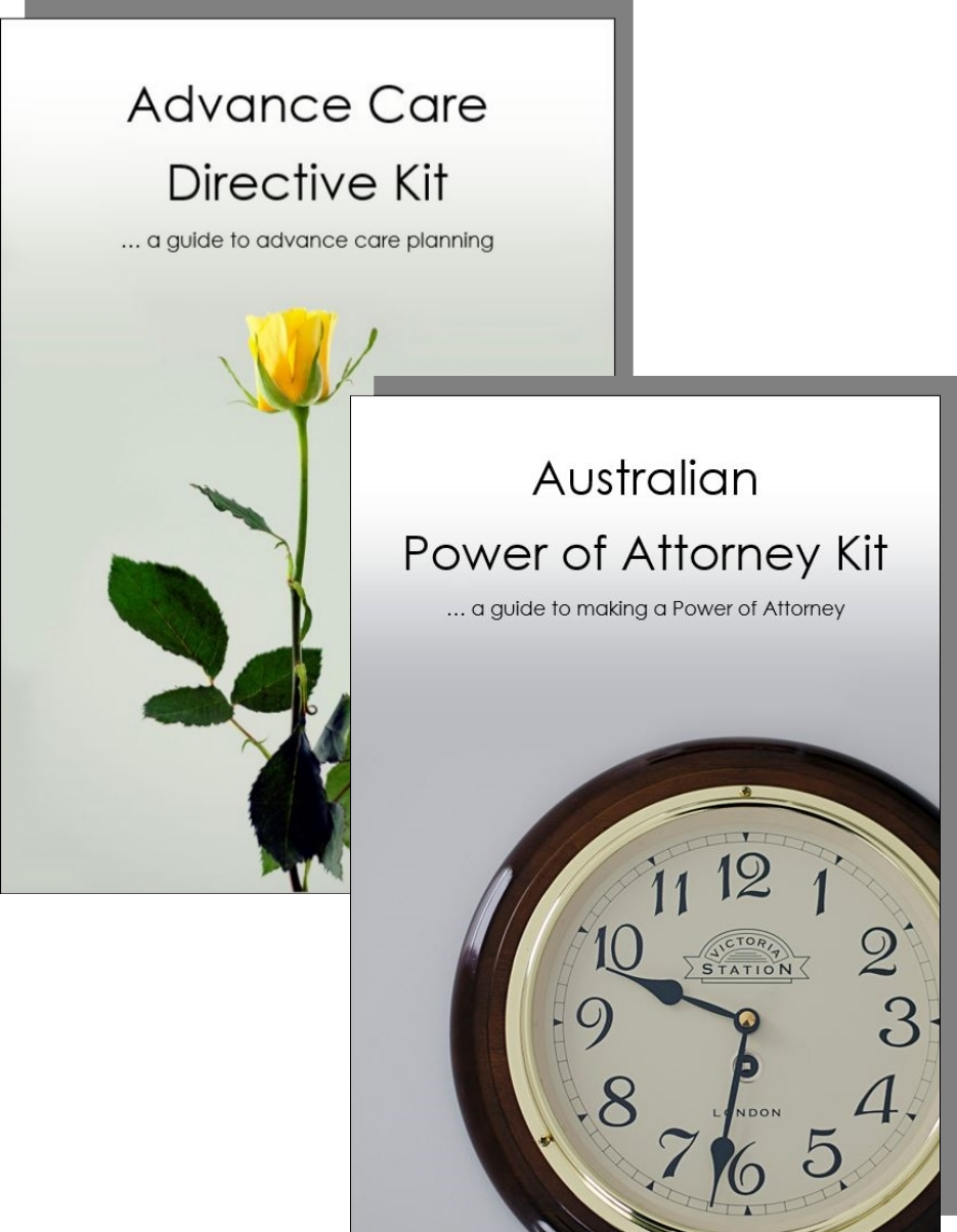 Advance Care Directive and Power of Attorney Kit for one adult cover image