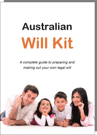 Australian Will Kit cover