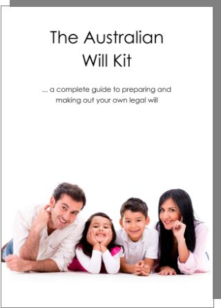 Australian Will Kit for two adults cover image