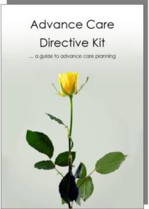 Advance Care Directive Kit - click here for more information